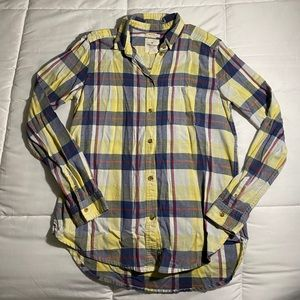 Boyfriend Fit Flannel